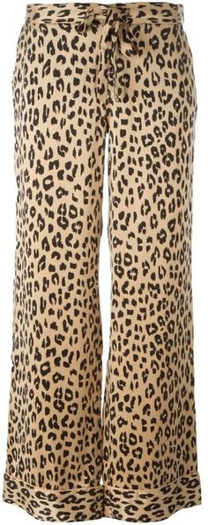 Pin for Later: The 1 Print We Might Wear Too Much of This Fall  Equipment Kate Moss for leopard print trousers ($409)