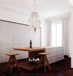 Eduardo Cardenes Interior Design Studio - Appartement rue Pierre Charron - Paris
