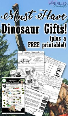 """Looking for the perfect gift for your dinosaur lover? Well look no further! We have you covered with """"MUST HAVE"""" Dino Gifts!  via @RaisingSoldiers4Christ"""