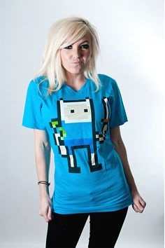 Adventure Time Sword Tee from Cherry Sauce Clothing
