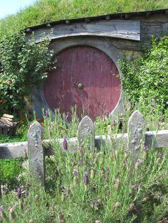 Hobbit Door, Hobbiton, New Zealand, Lisa Berry