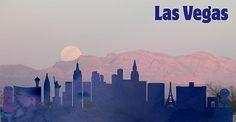 Las Vegas City Skylines Silhouette