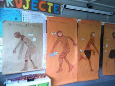 Taller sobre la evolución de la especie. Prehistoria.  CaminArt