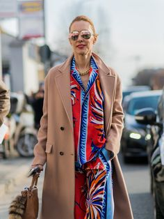 Street Style Milan Fashion Week Februar 2016 | POPSUGAR Deutschland Mode