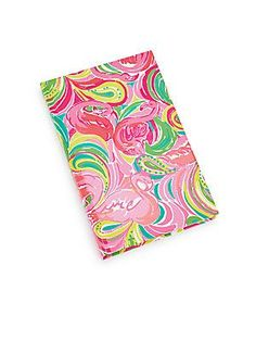 Lilly Pulitzer Printed Journal - Pink - Size No Size