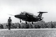 Photo: This Day in Aviation History July 7th, 1962 First flight of the Lockheed XV-4 Hummingbird. The Lockheed XV-4 Hummingbird (originally designated VZ-10) was a U.S. Army project to demonstrate the feasibility of using VTOL for a surveillance aircraft carrying target-acquisition and sensory equipment. It was designed and built by the Lockheed Corporation in the 1960s, one of many attempts to produce a V/STOL vertical take off/landing jet. Both prototype aircraft were destroyed in…
