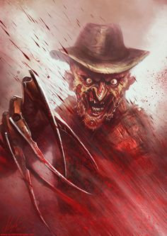 Fan art of the maniac himself, Freddy Krueger. I actually started this ages ago, probably more than a year, but now that I'm off toOz Comic-ConMelbourne this weekend, andRobert Barton E...