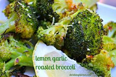 Think you don't like broccoli? Think again. Try this amazing lemon garlic roasted broccoli once and you'll be a believer!