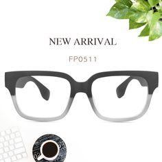 cd05154fe56 Colin Rectangle Black Crystal Glasses FP0511-03
