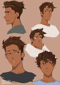 """honestlyprettychill honestlyprettychill,Voltron artistic-snachel: """" hair doodles for julance? Psst Commissions are open by the way """" bEAUTIFULLL Design Voltron Klance, Form Voltron, Matt Voltron, Art Reference Poses, Drawing Reference, Hair Reference, Drawing Tips, Wow Art, Character Drawing"""