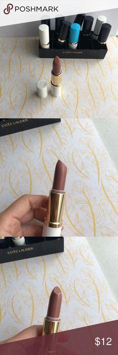 Estée Lauder lipstick #12 Beige shimmer Estee Lauder Pure Color Long Lasting Lipstick #12 Beige shimmer,full size Estee Lauder Makeup Lipstick