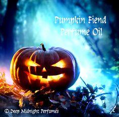 PUMPKIN FIEND Perfume Oil  Dark Pine by DeepMidnightPerfumes