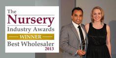Awarded - Best Wholesaler 2013 Award Winner, Awards, Joy, Glee, Being Happy, Happiness