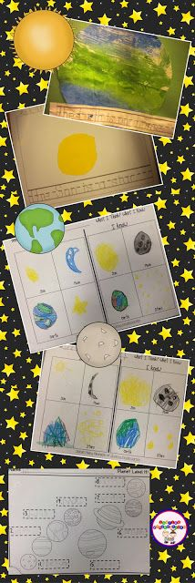 Space unit ideas and lesson plans... so much fun!