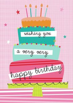 Quotes about Birthday : QUOTATION - Image : As the quote says - Description Martina Hogan - happy birthday cake. Birthday Blessings, Birthday Wishes Cards, Happy Birthday Messages, Happy Birthday Greetings, Birthday Quotes, Happy Birthday Pictures, Very Happy Birthday, Birthday Love, Birthday Clips