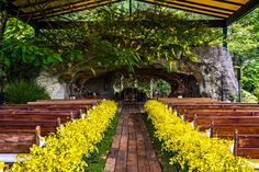 """Thaisa Almeida e Marcos Gomes disseram o """"sim"""" em um lindo casamento na fazenda da família da noiva. Lais Aguiar cuidou da decoração."""