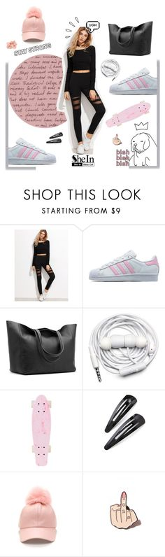 """""""gotta work out girl"""" by magi-418 ❤ liked on Polyvore featuring adidas Originals, Cuyana, Urbanears, Adia Kibur, Old Navy, Local Heroes and Accessorize"""
