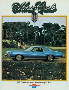 I had two of these in high school! !  Both were 1976 models.  1974 Chevrolet Monte Carlo Landau