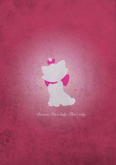 Aristocats inspired design (Marie). by topshelf