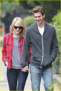 Emma Stone  Andrew Garfield = the cutest