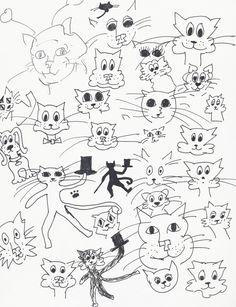 Cat doodles for my logo inspiration