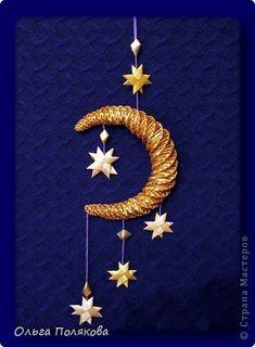 Поделка изделие Новый год Рождество Плетение Новогодние сувениры Соломка фото 3