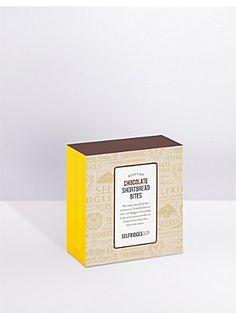 SELFRIDGES SELECTION Chocolate shortbread mini bites 100g