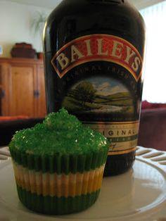 The Lush Chef: Baileys Irish Cream Cupcakes