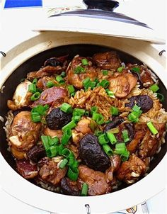 I was gawking at all the familiar Malaysian dishes on her website. They look exactly like those that I eat so very often in Malaysia. The more I browse, the more hungry I get. If you are a Malaysia… Claypot Recipes, Rice Recipes, Asian Recipes, Chicken Recipes, Cooking Recipes, Ethnic Recipes, Claypot Rice Recipe, Orange Recipes, Malaysian Cuisine