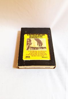 A Fistful of Dollars Soundtrack 8 Track Tape by ShareableSecrets