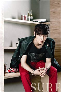 C.N Blue Kang Min Hyuk – Sure Magazine August Issue '12