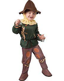 Toddler Scarecrow Costume - Wizard of Oz