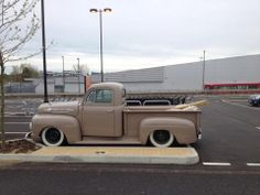 The 1952 Ford F1 classic pickup truck.