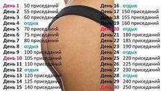 ПРОГРАММА ПРИСЕДАНИЙ. Обсуждение на LiveInternet - Российский Сервис Онлайн-Дневников