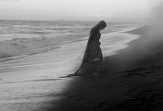 From the mystic ocean mist she came, to enter into a lovers soul, she flows through his veins, where no transfusion cures, each night in dreams he drowns within her waves. Dark Gif, The Darkness, Arte Obscura, Sea Witch, Dark Photography, Story Inspiration, Strand, Mystic, Creepy