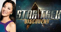 Star Trek: Discovery Gets Michelle Yeoh as Captain Georgiou -- CBS All Access has announced that Doug Jones, Michelle Yeoh and Anthony Rapp have come aboard as the first three cast members for Star Trek: Discovery. -- http://tvweb.com/star-trek-discovery-cast-michelle-yeoh-new-captain/
