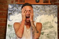 Brandon Boyd.. also I love his red forearm tattoo.. always have.