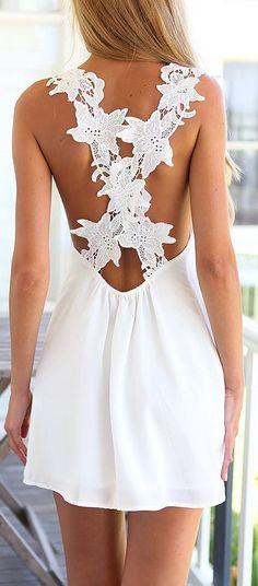 Criss Cross Crochet Dress ❤︎