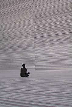 """Ryoji Ikeda's """"the transfinite"""" @ Park Avenue Armory"""