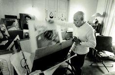 Ara GÜLER (né en 1928) Pablo Picasso à 90 ans, 1971