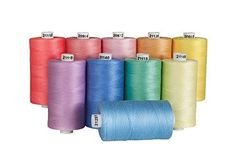 Connecting Threads Cotton Thread Sets - 1200 Yard Spools (Set of 10 - Cream) Sewing Class, Sewing Tools, Sewing Hacks, Sewing Tutorials, Sewing Notions, Embroidery For Beginners, Crochet Patterns For Beginners, Sewing Scissors, Tea Roses