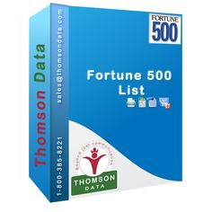 Thomson Data has the most comprehensive and recognized database of Fortune 500 companies list.The list is compiled with extensive Market Analysis and Research that would help you target the 500 U.S. closely held company ranked according to their gross revenue.