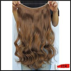 Curly 20inches 100g Halo Fast Extentions Apply Hair Extensions Weaving Hairpiece Mega Flip in Secret Ticking Chocolate 27 Color