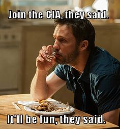 Join the CIA the said... Michael Westen meme - Burn Notice