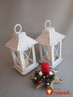 Diy Home Crafts, Crafts To Do, Handmade Crafts, Arts And Crafts, Newspaper Basket, Newspaper Crafts, Paper Weaving, Loom Weaving, Christmas Art