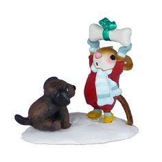 NOT UNTIL CHRISTMAS! by Wee Forest Folk, WFF# M-428a, LTD 2012