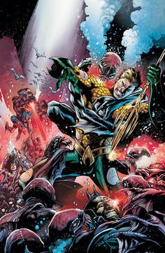"""Commentary Track: Paul Pelletier On """"Aquaman"""" #15 - Comic Book Resources"""