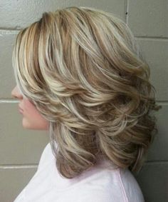 Shoulder Length Thick Layered