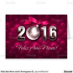 Feliz Ano Novo 2016. Cartões portugueses