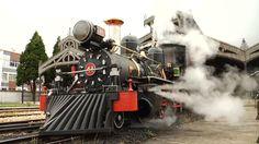 """Estrada de Ferro Oeste de Minas (EFOM) ✮ Trem """"Bitolinha"""" na estação ferroviária de São João del-Rei (MG) # Minas Gerais # MG # Brasil"""